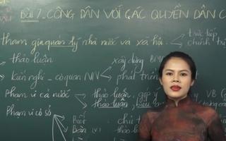 Ôn Tập Online Lớp 12 | Làm sao biết được 'Công Dân và các quyền dân chủ' là gì
