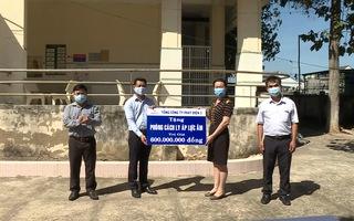 EVNGENCO 3 trao tặng phòng cách ly áp lực âm cho tỉnh Bình Thuận