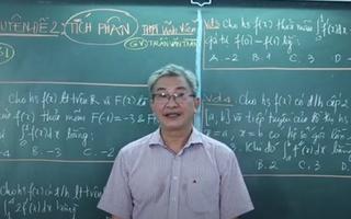 Ôn Tập Online Lớp 12 | Ôn tập môn toán lớp 12 chuyên đề Tích Phân