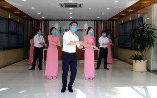 """Nhân viên ngành điện nhảy """"Ghen Cô Vy"""" tuyên truyền chống dịch COVID-19"""