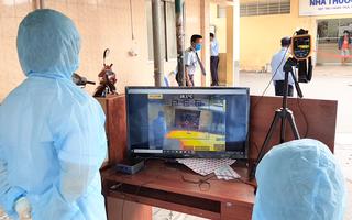Video: Bệnh viện Thống Nhất sử dụng máy quét nhiệt độ tự động