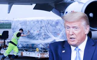 Video: Phối hợp hỗ trợ 450.000 bộ bảo hộ y tế, tổng thống Mỹ cảm ơn Việt Nam