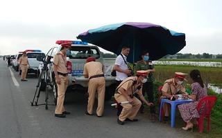 Hàng nghìn CSGT bắt đầu tổng kiểm tra phương tiện
