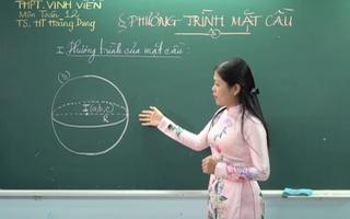 Video: Ôn Tập Online Lớp 12 | Ôn tập Toán Hình học không gian 'Phương trình mặt cầu'