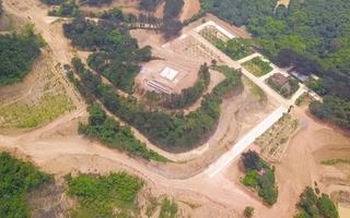 Video: 'Chặt đầu' quần thể núi Đinh để phân lô, đào hồ, xây biệt phủ