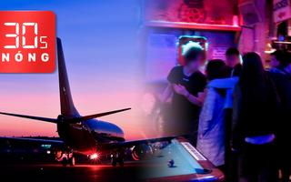 Bản tin 30s Nóng: Đi bar lây COVID-19 cho 14 người; Máy bay đâm chết người trên đường băng