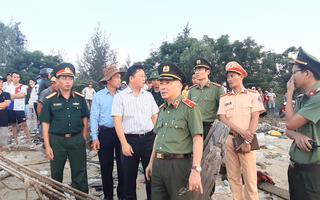 Video: Tìm được 2 thi thể vụ lật ghe trên sông Thu Bồn