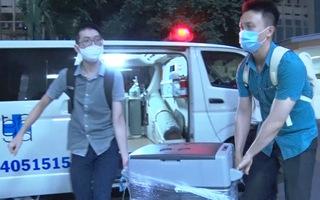 Video: 'Hộ tống' lá gan từ sân bay về bệnh viện chỉ trong vòng 10 phút