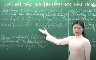 Ôn Tập Online Lớp 12 | Ôn tập câu hỏi trắc nghiệm hình học giải tích P2