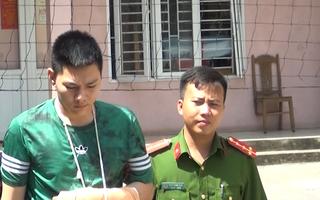 Video: Bắt giữ thanh niên cướp tiệm vàng ở TP.Thanh Hóa