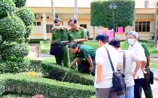 Video: Người đàn ông chết với vết cắt trên cổ trong công viên bệnh viện