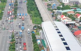 Video: Cận cảnh các nhà ga trên cao tuyến metro Bến Thành - Suối Tiên