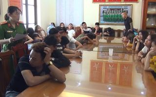 Video: 54 thanh niên tham gia tiệc sinh nhật sử dụng chất kích thích