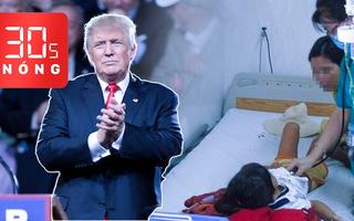 Bản tin 30s Nóng: Bé gái tử vong vì ăn sắn; Fan K-pop, Tiktok 'phá' sự kiện của Trump