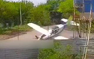 Video: Rơi máy bay làm một phi công tử nạn