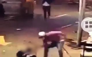 Video: Nhóm thanh niên đuổi chém người dã man trên đường