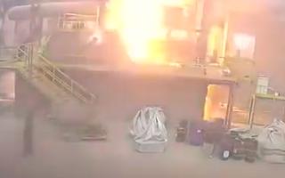 Video: Nhà máy sản xuất Wolfram gặp sự cố, liên tục phát ra tiếng nổ lớn