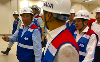 Video: Phó thủ tướng Phạm Bình Minh thị sát tuyến metro Bến Thành-Suối Tiên