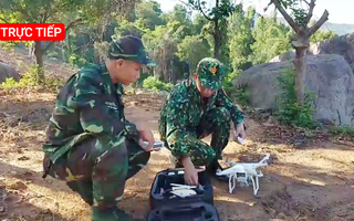 Trực tiếp: Sử dụng flycam truy tìm phạm nhân vượt ngục trên đèo Hải Vân