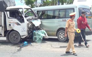 Video: 7 xe tông nhau liên hoàn, 5 người bị thương nhập viện
