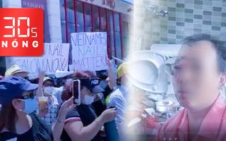 Bản tin 30s Nóng: Bỏng nặng do bồn cầu phát nổ; Karaoke được hoạt động lại; Việt kiều biểu tình tại Mỹ