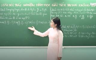 Ôn Tập Online Lớp 12 | Ôn tập câu hỏi trắc nghiệm hình học giải tích