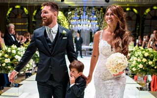 Video: Hơn 2 triệu lượt xem đám cưới của Messi