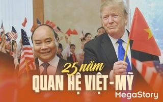 25 năm quan hệ Việt - Mỹ