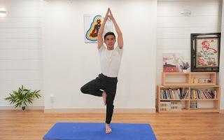 Tăng sức mạnh đôi chân với những động tác yoga đơn giản, hiệu quả