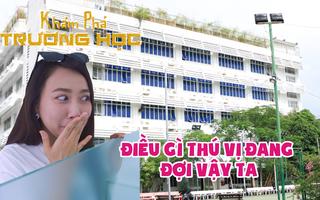 Khám phá trường học: Cùng diễn viên Hồng Loan 'mục sở thị' các phòng thực hành của ĐHQT Hồng Bàng