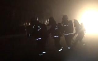 Video: Xe chở 45 hành khách 'bốc cháy như đuốc' trong đường hầm
