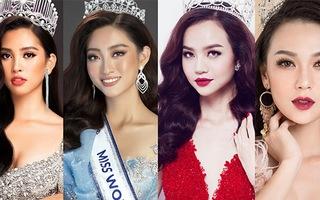 Hoa hậu Tiểu Vy, Lương Thùy Linh, Kiều Ngân, Cao Thùy Linh lộng lẫy với 'Cổ tích hiện đại'