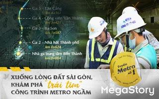 Xuống lòng đất Sài Gòn, khám phá 'trái tim' công trình metro ngầm