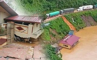 Video: Cảnh tan hoang sau lũ dữ ở Hà Giang, đã có 5 người tử vong