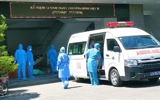 Video: Chuyển bệnh nhân từ Bệnh viện Đà Nẵng sang các bệnh viện khác