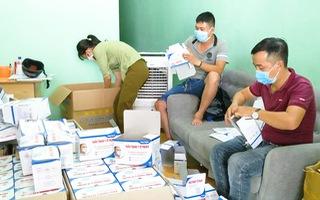 Video: 21 ngàn khẩu trang y tế không hóa đơn chứng từ ở Đà Nẵng bị tạm giữ