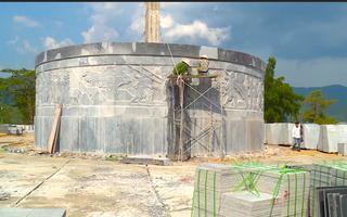 Video: Huyện nghèo ở Bình Định đang khẩn trương xây tượng đài 48 tỉ