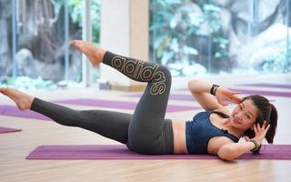 Cách giảm cân, đốt cháy mỡ thừa tuần mới với bài pilates