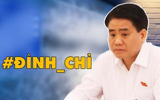 Video: Tạm đình chỉ công tác đối với ông Nguyễn Đức Chung, Chủ tịch UBND thành phố Hà Nội