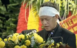 Video: Bài phát biểu xúc động của con trai nguyên Tổng bí thư Lê Khả Phiêu trong lễ truy điệu