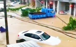 Video: Hơn 600 con sông ở Trung Quốc vượt mức cảnh báo lũ