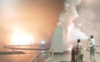 Video: Nổ tại đập thủy điện dưới lòng đất  Ấn Độ, 9 người vẫn đang mắc kẹt