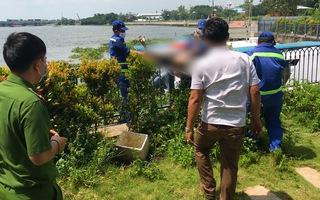 Video: Phát hiện xác nam thanh niên trôi sông Sài Gòn, trên tay có nhiều vết cắt