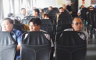 Tàu cao tốc đi Củ Chi, Bình Dương: Khách ít nhưng không ngừng