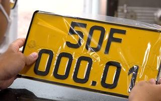 Video: Nhiều taxi công nghệ, xe cá nhân kinh doanh vận tải chưa thể đổi sang biển số vàng