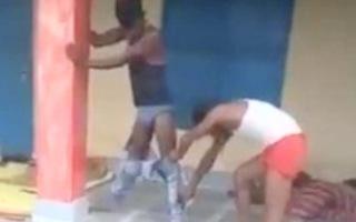 Video: Bị rắn chui vào quần, một thanh niên phải đứng bất động 7 tiếng đồng hồ