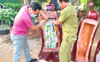 Video: 230kg ma túy giấu trong tượng gỗ vận chuyển vào Việt Nam như thế nào?