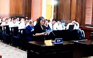 Video: Bị cáo Thúy đã bật khóc tại tòa vì để người thân vào vòng xoáy thị phi