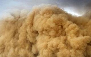 Video: Bão cát kinh hoàng ở Trung Quốc