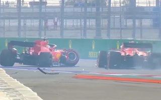 Video: Khoảnh khắc xe đua Vettel gặp tai nạn trong buổi phân hạng chặng F1 tại Nga